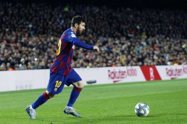 Lionel Messi sebenarnya kesakitan tapi paksa diri terus bermain