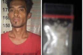 Polisi Tanjung Pura Langkat tangkap warga miliki sabu-sabu