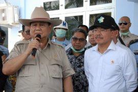 Menhan Prabowo: Percayakan penanganan observasi WNI kepada pemerintah