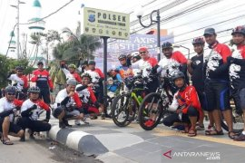 Polsekta Banjarmasin Timur gelorakan patroli bersepeda