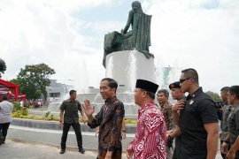Monumen Fatmawati di Bengkulu, Jokowi sebut tanda hormat atas perjuangan ibu negara