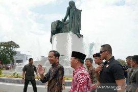 Presiden Jokowi resmikan monumen Fatmawati Soekarno