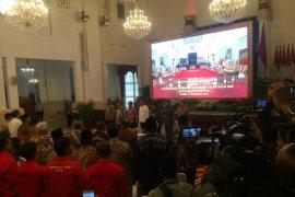 Jokowi ancam copot jabatan TNI/Polri jika ada kebakaran hutan