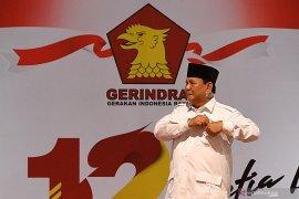 Prabowo rayakan HUT Gerindra bersama anak yatim piatu