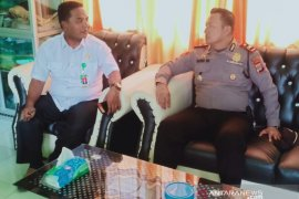 Polisi di Aceh Utara lakukan koordinasi soal wabah virus corona