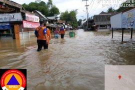 Pasar Mahe Haruai lumpuh total akibat banjir