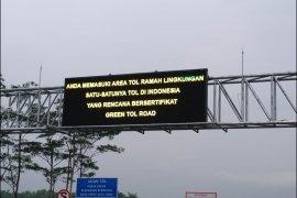 Tol Pandaan-Malang siap jadi tol ramah lingkungan pertama di Indonesia