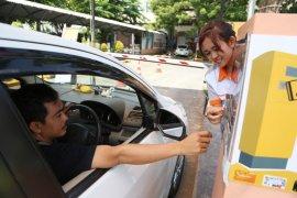 Stasiun Gubeng Surabaya terapkan bayar parkir dengan uang elektronik