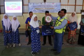 PT Pamapersada ajak siswa dukung Gerakan Sekolah Sehat