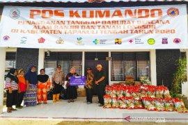 BI Sibolga bantu korban banjir Tapteng dengan sembako senilai Rp30 juta