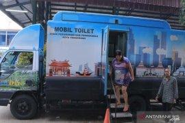Dinas Perkim siagakan toilet portabel di lokasi banjir di Periuk