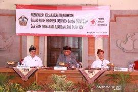 PMI Bangli tingkatkan peran lewat muskerkab