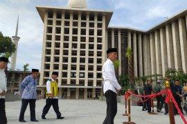 Presiden akan bangun terowongan bawah tanah antara Masjid Istiqlal dan Katedral