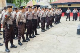 Polda Kalbar kirim satu SSK Samapta untuk amankan CGM Singkawang