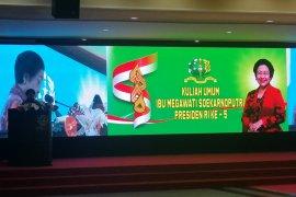 Pesan Megawati kepada taruna Akmil
