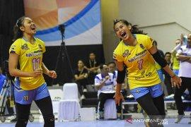 Tim voli putri Bandung BJB libas Gresik Petrokimia 3-0
