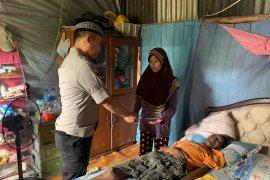 Polisi Bangka Barat bantu penderita penurunan sistem imun
