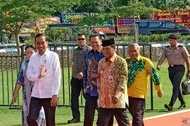 Presiden tiba di arena utama HPN 2020