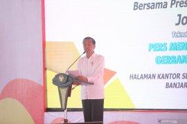 Jokowi dukung regulasi lindungi dunia pers nasional