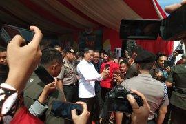 Jokowi jadi buruan selfie jurnalis se Indonesia