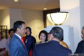 Presiden Jokowi tiba di Canberra