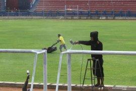 Tak ingin jadi musafir, Persik Kediri perbaiki fasilitas Stadion Brawijaya