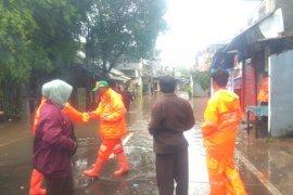 Banjir di kawasan Kemang Jakarta Selatan mulai surut