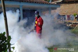 Klinik  Pratama PMI Jember lakukan fogging di daerah positif DBD