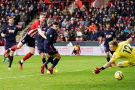 Liga Inggris, Sheffield ke posisi lima setelah menang dramatis atas Bournemouth