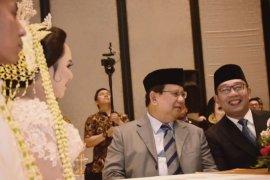 Ridwan Kamil dan Prabowo bertemu kembali