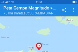 BPBD Maluku Tengah: Tidak ada korban jiwa dan pengungsian akibat gempa di Seram