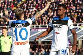 Atalanta pecundangi Fiorentina 2-1 mengamankan zona Liga Champions