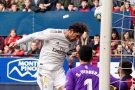 Madrid jauhi Barcelona setelah cukur Osasuna 4-1