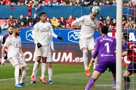 Cukur Osasuna 4-1, Real Madrid kian jauhi Barcelona