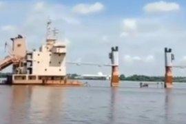 Kapal Kargo Surya Pekik tenggelam di alur Sungai Kapuas Pontianak