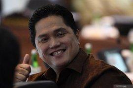Erick berpeluang besar jadi menteri Indonesia Maju yang bersinar