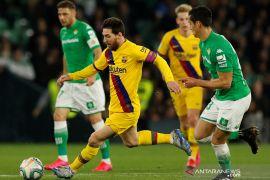 Lionel Messi membuat tiga assist untuk tiga gol yang dicetak Barcelona