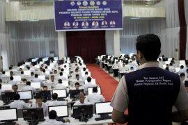 Belasan peserta CPNS pemko Banda Aceh gugur hari pertama tes