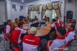 Wakil Wali Kota Padangsidimpuan menerima audensi LSM Lira