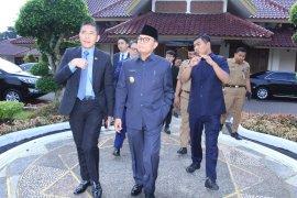 Gubernur Jambi sambut baik kunjungan Menteri Senior dan Konsul Singapura