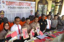 Polres Madiun Kota tangani sembilan kasus pidana umum, 12 tersangka ditangkap