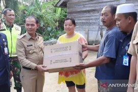Bupati Bangka salurkan bantuan kepada korban puting beliung