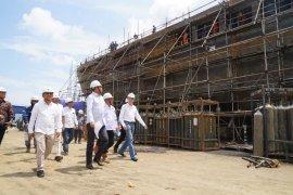Gubernur optimistis pembangunan Kapal Aceh Hebat tepat waktu