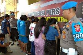 Polres Cianjur gagalkan perdagangan wanita untuk wisatawan asing