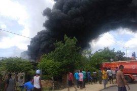 AMPS di Sabu Raijua terbakar