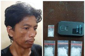 Polres Langkat tangkap warga Tanjung Pura miliki 4,02 gram sabu