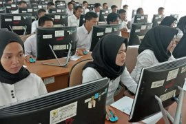 11 instansi vertikal di Jambi selesai laksanakan tes SKD CPNS
