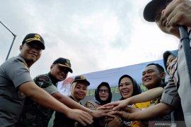 Dua Bupati secara bersama resmikan jembatan Karawang-Bekasi