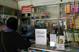 Apotek di Palembang batasi penjualan masker karena stok menipis