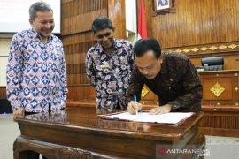 Sekda-ORI Bali teken kerja sama peningkatan pelayanan publik